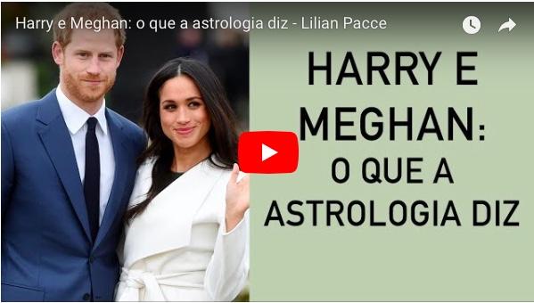 HARRY E MEGHAN O QUE A ASTROLÓGIA DIZ