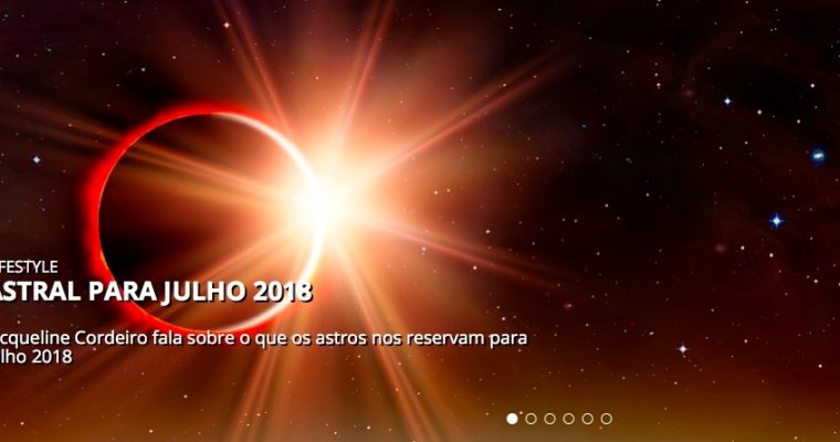 Astral para Julho 2018