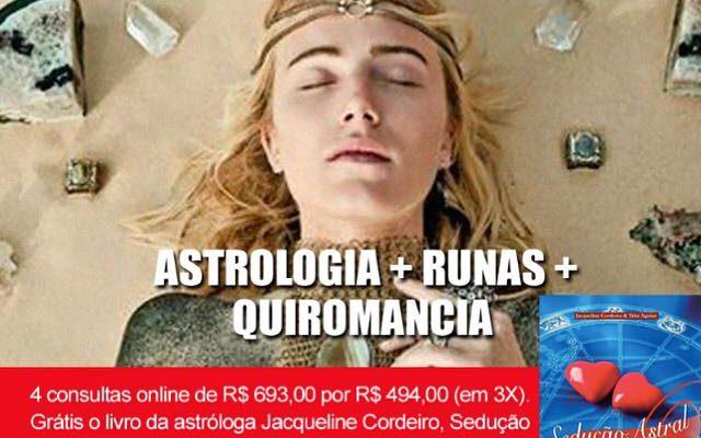 COMBO ESOTÉRICO: ASTROLOGIA + RUNAS + QUIROMANCIA