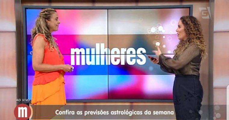 PREVISÃO ASTROLÓGICA NO PROGRAMA MULHERES